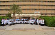 كلية طب المثنى تجري امتحان الاوسكي بحضور اساتذه أجانب واساتذة من جامعات العراق