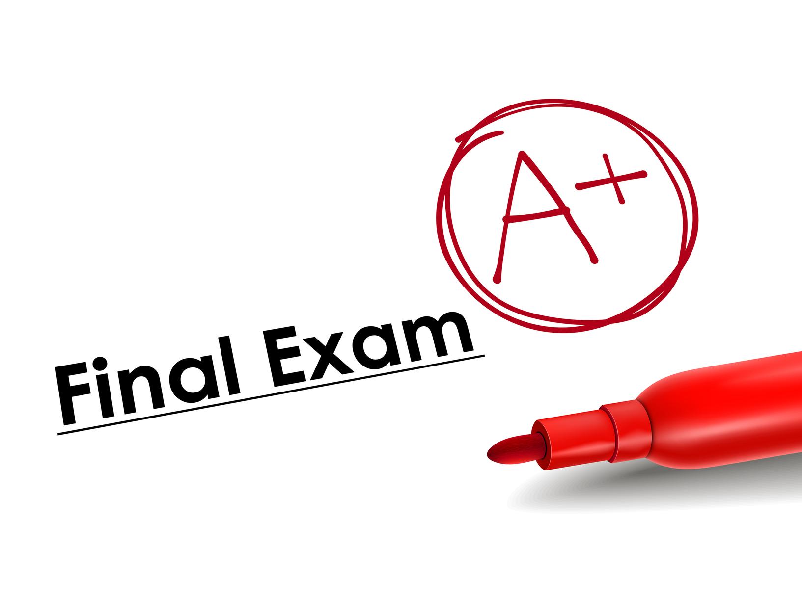 جدول الامتحانات النهائية للعام الدراسي 2016 – 2017
