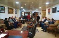 زيارة عضو مجلس النواب العراقي لكلية طب المثنى