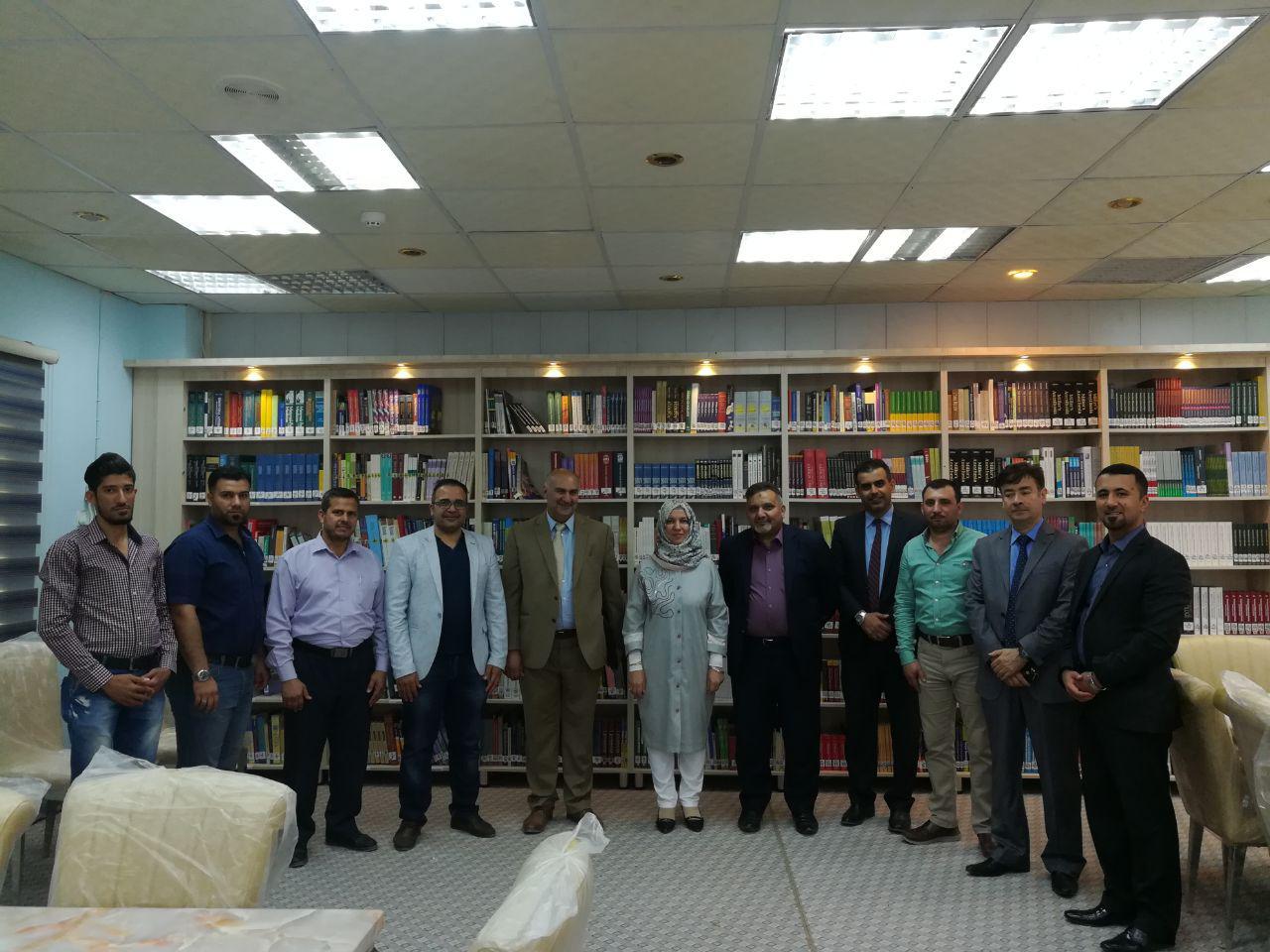 زيارة لجنة اعتماديات كليات الطب العراقية