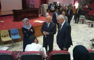 زيارة السيد وزير التعليم العالي والبحث العلمي لجامعة المثنى \ كلية الطب