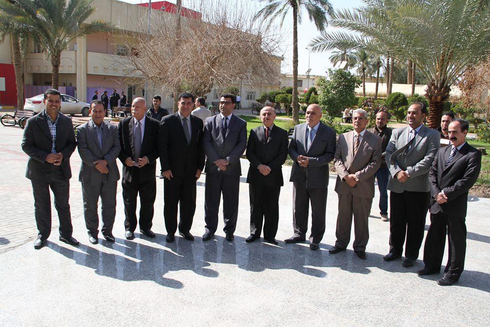 زيارة أ.م.د محمد الشمري عضو البرلمان العراقي وعضو لجنة التعليم العالي والبحث العلمي