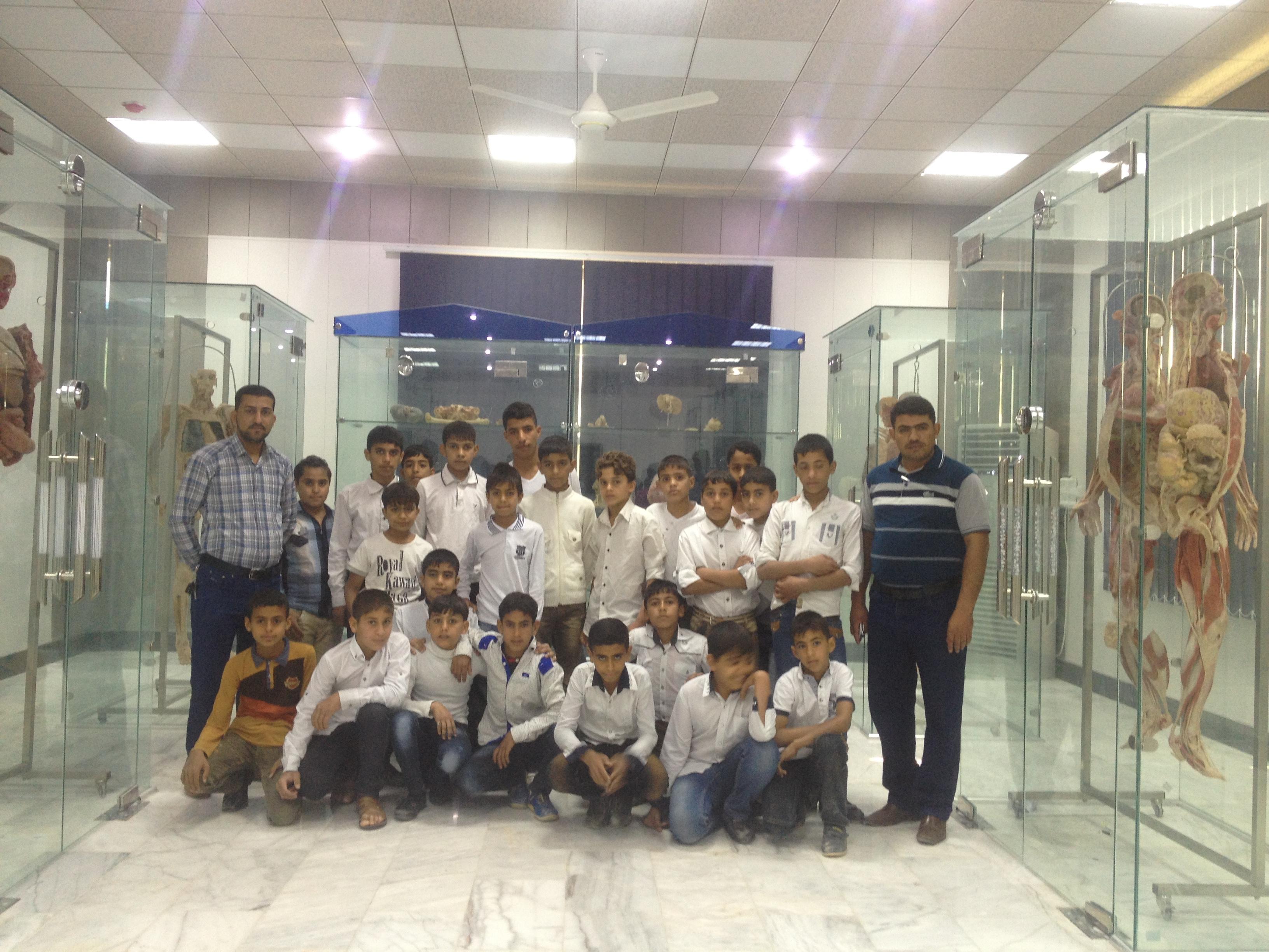 زيارة مدرسة سبأ الابتدائية لكلية الطب