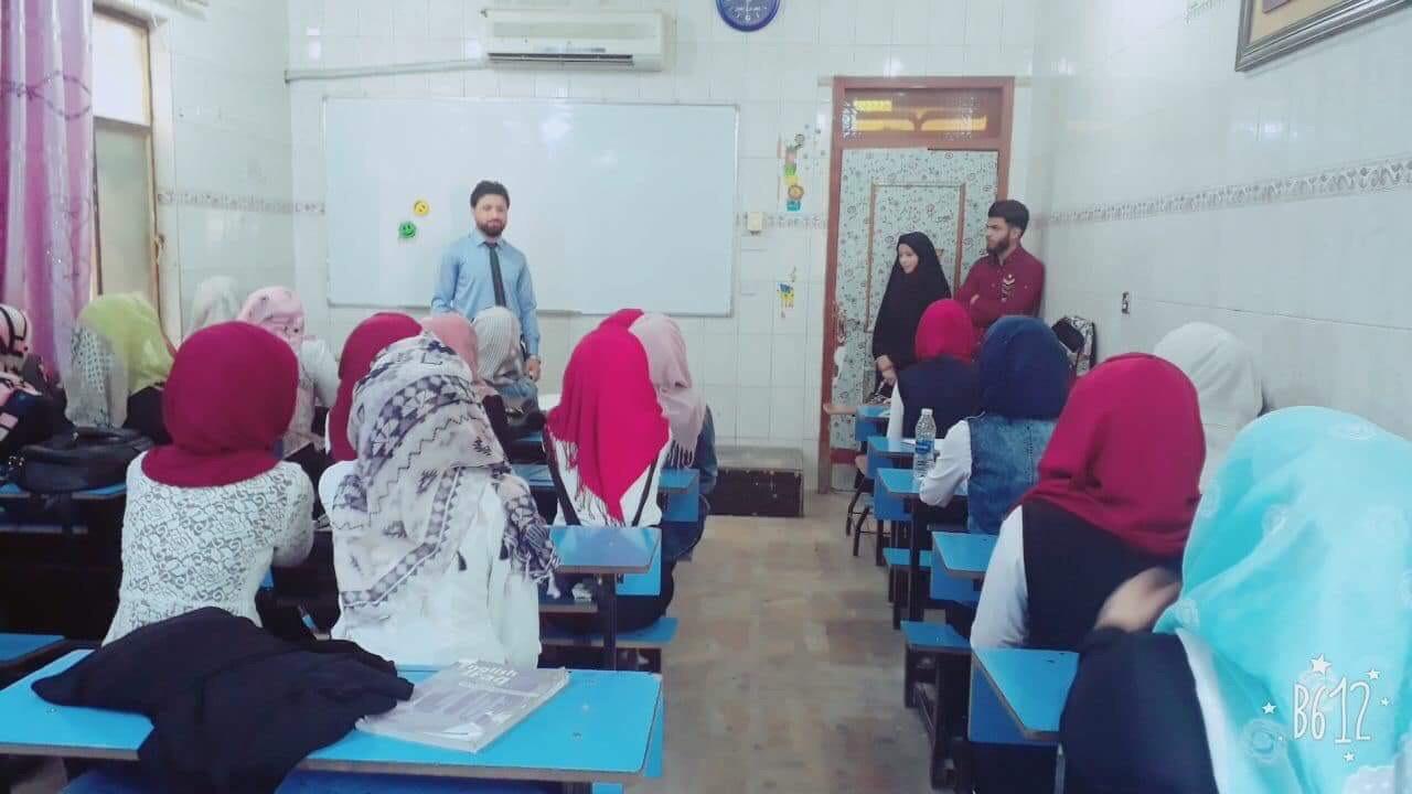 نشاط طلابي :: زيارة ثانوية قلعة العلوم